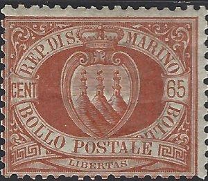 San Marino #20, Unused, Hinged