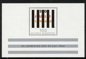 Germany 1836 MNH Attempt to Assassinate Hitler