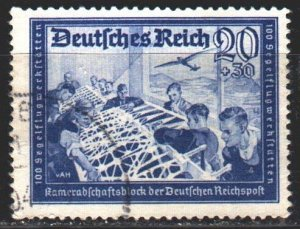 Third Reich. 1939. 711 from the series. Glider workshop. USED.