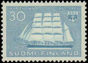 1961 Finland #379, Complete Set, Never Hinged