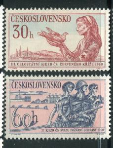 Czechoslovakia #986-7 MNH