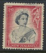 New Zealand SG 732 SC# 297 Used  see details 1953 QE II  Definitive Issue