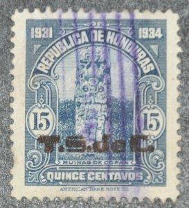 DYNAMITE Stamps: Honduras Scott #309 – USED