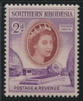 Southern Rhodesia  SG 80   SC# 83  Mint hinged Rhodes Grave