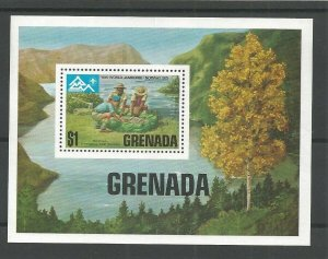 1975 Boy Scouts Grenada 14th World Jamboree Norway SS