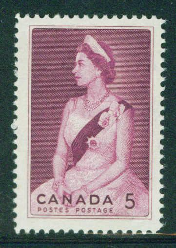 CANADA Scott 433 MNH**1964 QE2 portrait stamp