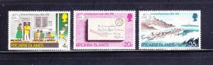 Pitcairn Islands 141-143 Set MNH UPU (A)