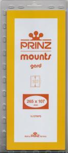 PRINZ CLEAR MOUNTS 265X107 (10) RETAIL PRICE $13.00