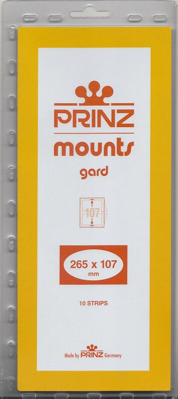 PRINZ BLACK MOUNTS 265X107 (10) RETAIL PRICE $13.00