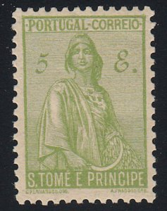 St Thomas & Prince Islands - 1934 - SC 299 - VLH