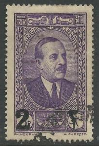 Lebanon #145  President, surcharged    (1) VF Used