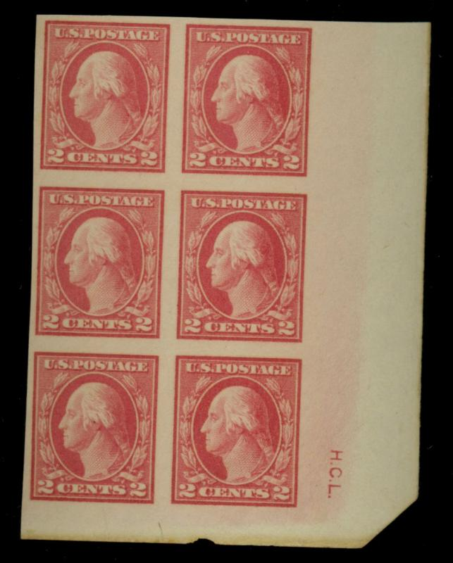 482 MINT InItial Block Of 6 F-VF OG NH Cat$16.50