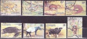MALAYSIA 1979 Definitive Animal Set SG190-197 Fine Used