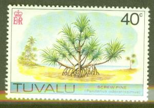 TUVALU Scott 32 MNH** Screw Pine Tree