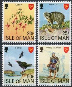 Isle of Man #126-129 MNH