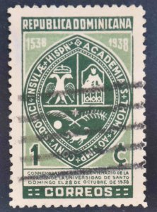 Dominican Republic Scott 339 Used stamp