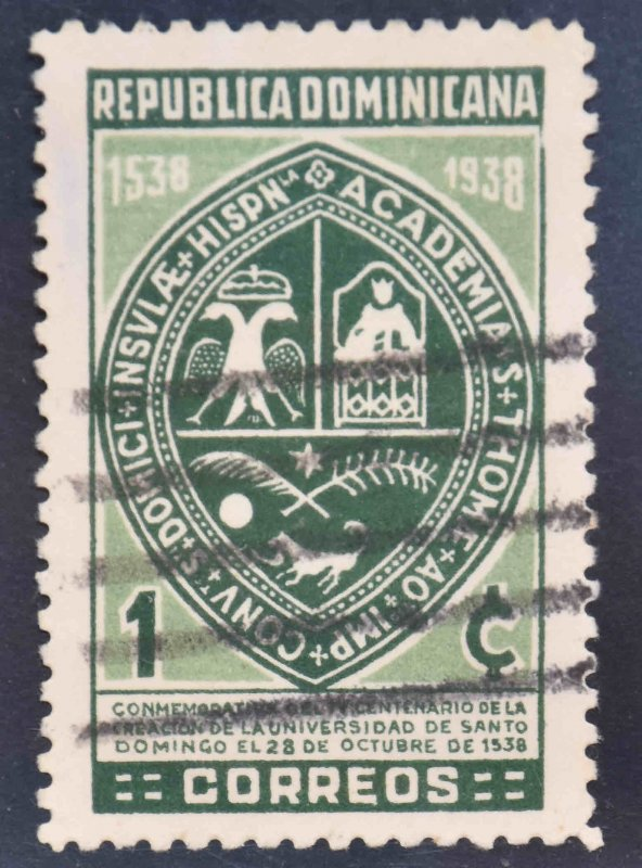 Dominican Republic Scott 339 Used stamp