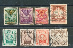 NEDERLAND 1924-5 USED LOT MICHEL CATALOG  VALUE $ 40