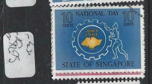 SINGAPORE  (P1404BB)  QEII  SG 78-9   VFU