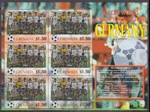 2006 Grenada 5719KL 2006 FIFA World Cup Germany( Iran ) 9,00 €