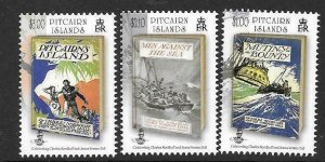 PITCAIRN ISLANDS SG874/6 2013 THE BOUNTY TROILOGY  MNH