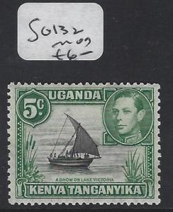 KENYA, UGANDA, TANGANYIKA  (P0909B) KGVI 5C BOAT SG 132  MOG