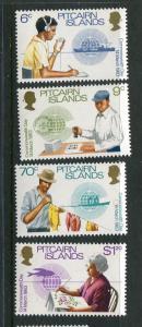 Pitcairn Is #221-4 MNH