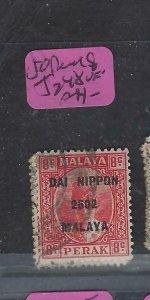MALAYA JAPANESE OCCUPATION PERAK  (P1004B) DN 8C  SG J248   VFU