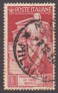 Italy 379 Used 1937 Augustus Caesar