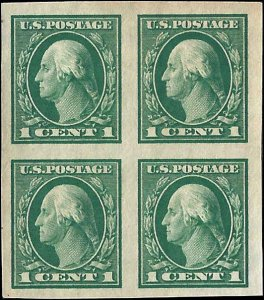 481 Mint,OG,NH... Block of 4... SCV $7.60... XF