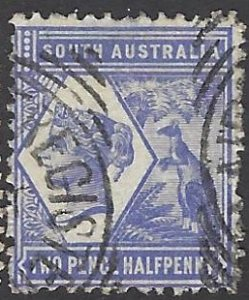 SOUTH AUSTRALIA 107 USED BIN $1.00 ROYALTY