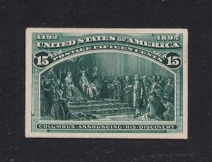 238P4 Deep Green - Engraved Plate Proof on Card
