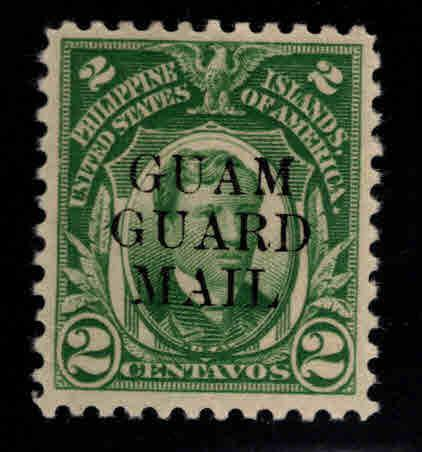 GUAM Scott M5 MH* Guard Mail stamp