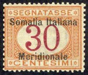 Somalia Sc# J4 MNH 1906-1908 30c Postage Due
