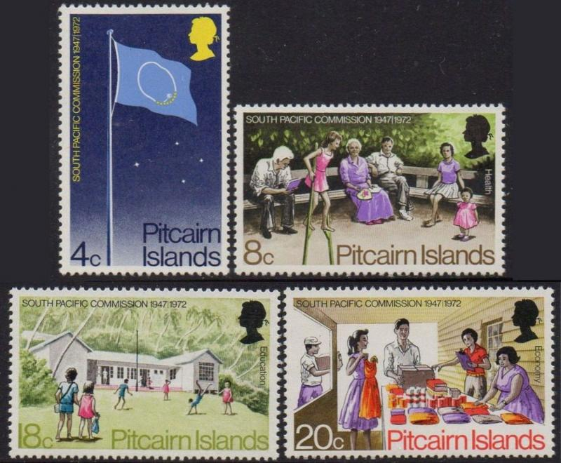 Pitcairn Islands 1972 25th Anniversary of South Pacific Commission	MNH