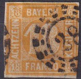 Bavaria #8 F-VF Used CV $190.00 (SU7708)