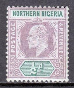 Northern Nigeria - Scott #10 - MH - Pencil on reverse - SCV $2.00
