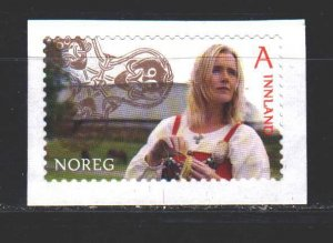 Norway. 2014. 1844 from the series. Girl in national costume. MNH.