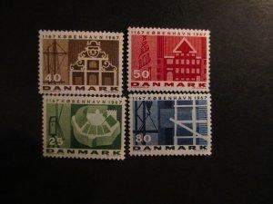 Denmark #432-35 Mint Never Hinged- (5E4) WDWPhilatelic