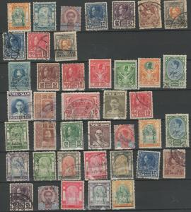 Thailand stamp collection