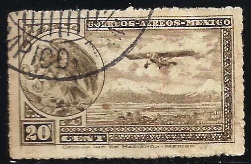 Mexico 1930-1932 Air Mail Scott# C23 Used