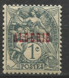 Algeria; 1924: Sc. # 1: **/MNH Single Stamp