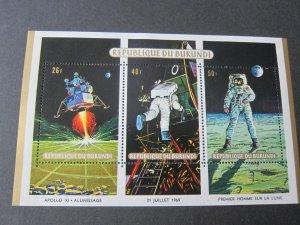 Burundi 1969 Sc 302 space set MNH