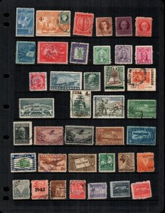Cuba 36 diff  mint and used stamps