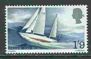 Great Britain # 517 Gipsy Moth IV   (1) Mint NH