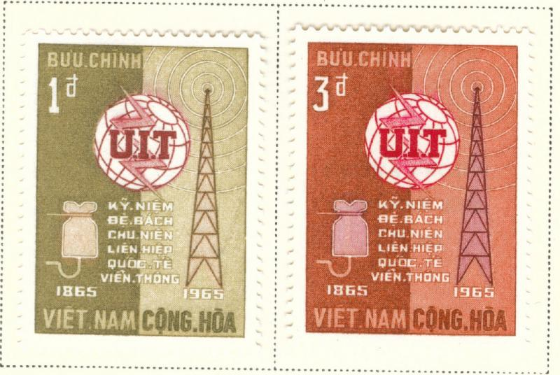 Vietnam Scott 253-24 MH*  ITU set