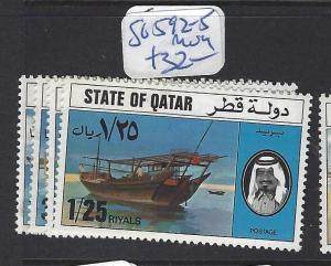 QATAR  (PP2609B)  SG 592-5       MOG