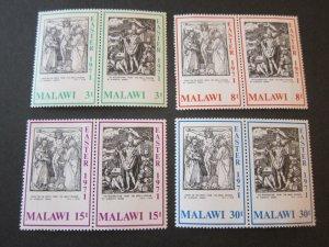 Malawi 1971 Sc 166a-72b Christmas Religion set MNH