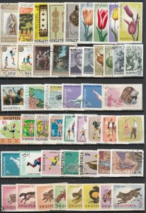 Albania - small stamp lot