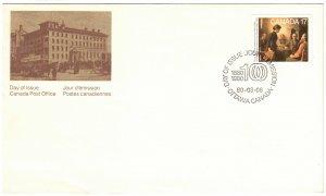 CANADA - FDC Academy of Arts SC849 1980